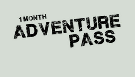 Adventure pass (1 month)